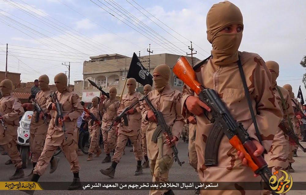 Tréningové centrum Islamského štátu pri Mosule. FOTO - TASR/AP