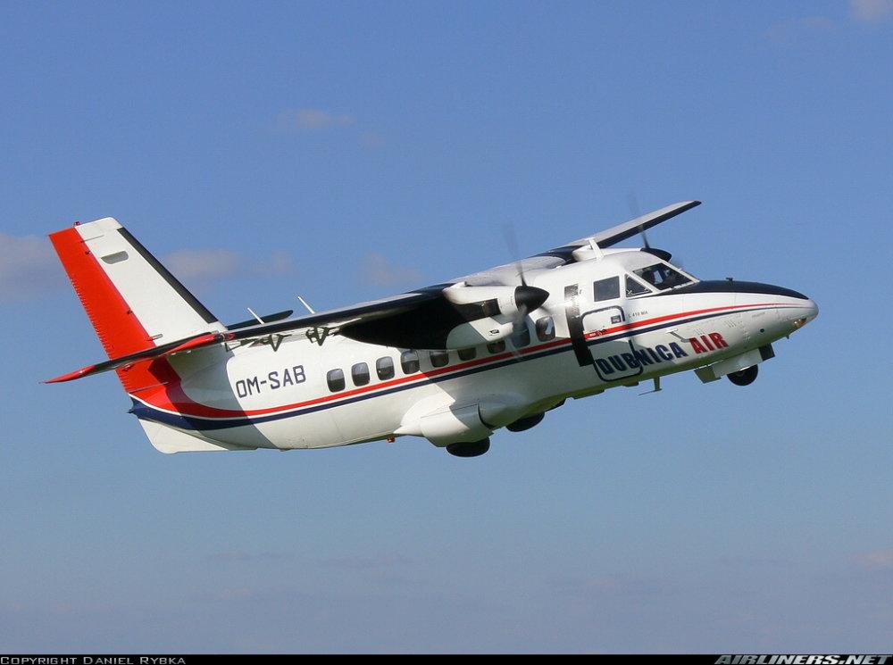 Obe lietadlá mali byť registrované u spoločnosti Dubnica Air. Foto - Airliners.net