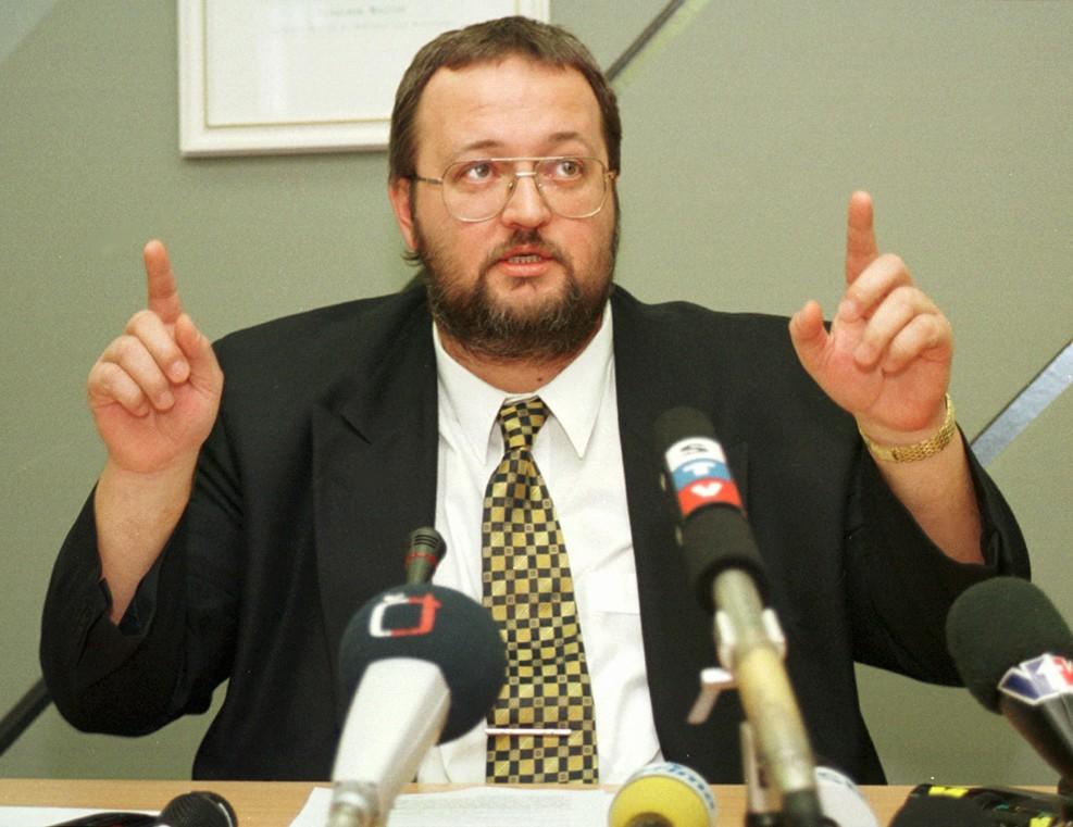 Ivan Lexa v roku 1999. Foto Tasr