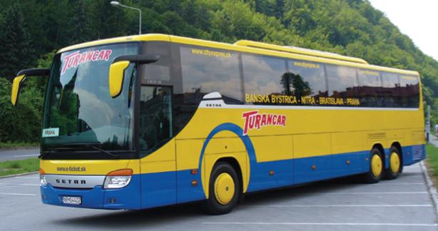 Turancar je hlavným súperom RegioJetu v boji o Nitru. Foto – Turancar