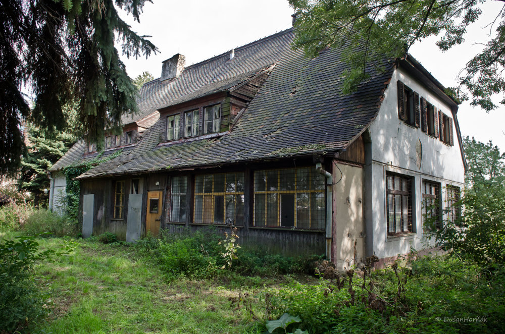 Vila na Jurajovom dvore. Foto - Dušan Horňák.