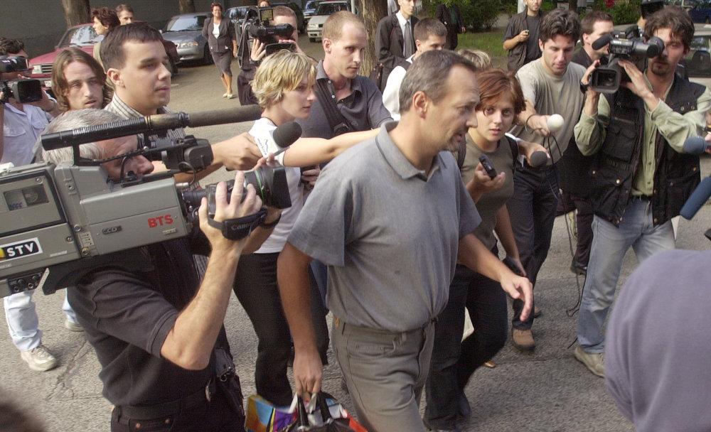 Ivan Lexa na súde v roku 2002. Foto Tasr