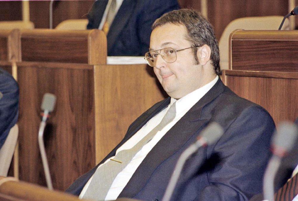 Ivan Lexa v roku 1998 v parlamente. Foto - TASR