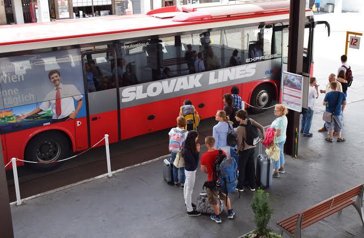 Slovak Lines jazdí do Viedne každú hodinu. Foto - Slovak Lines