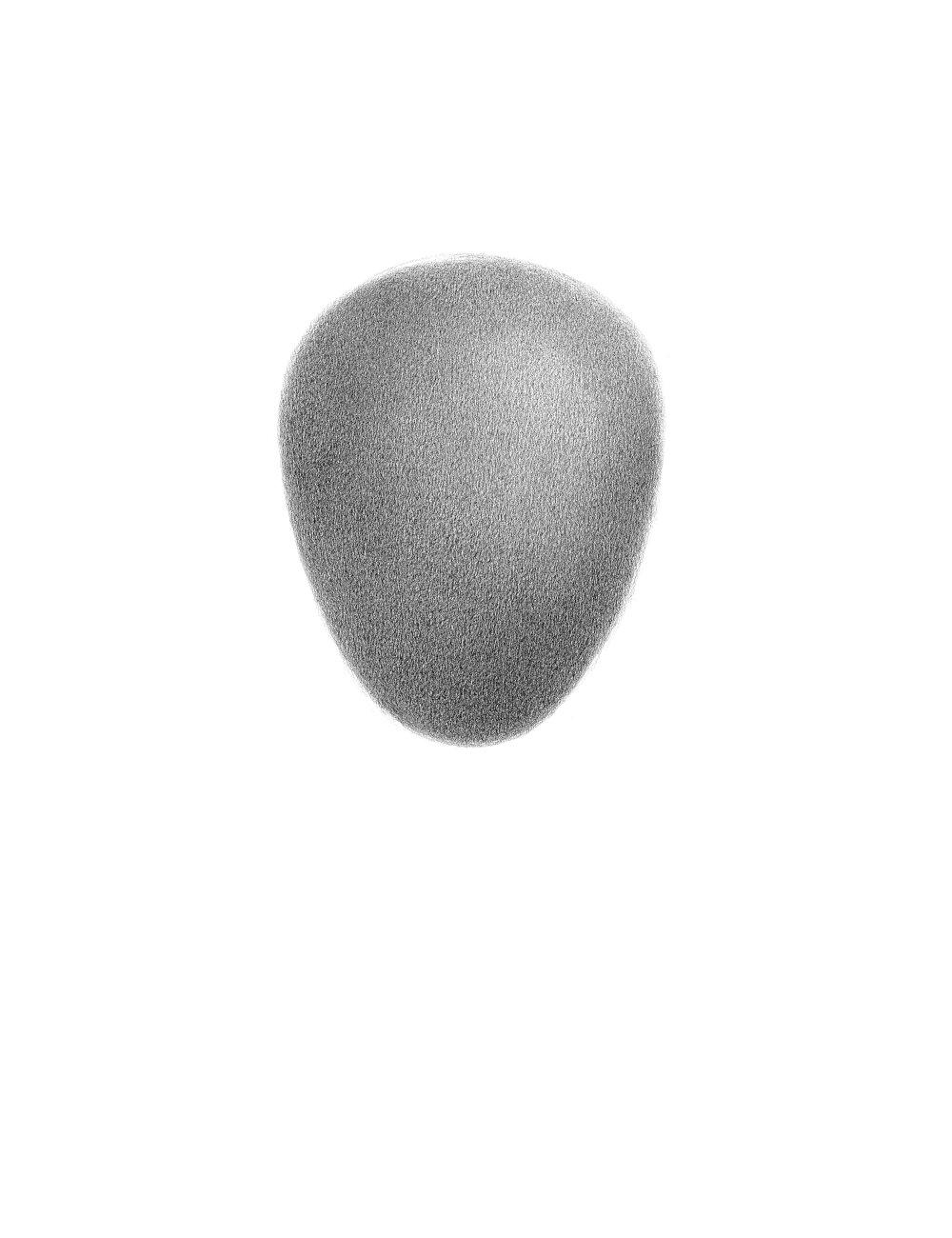 Čistý a bezúhonný, 2015, kresba ceruzkou, 390x300mm