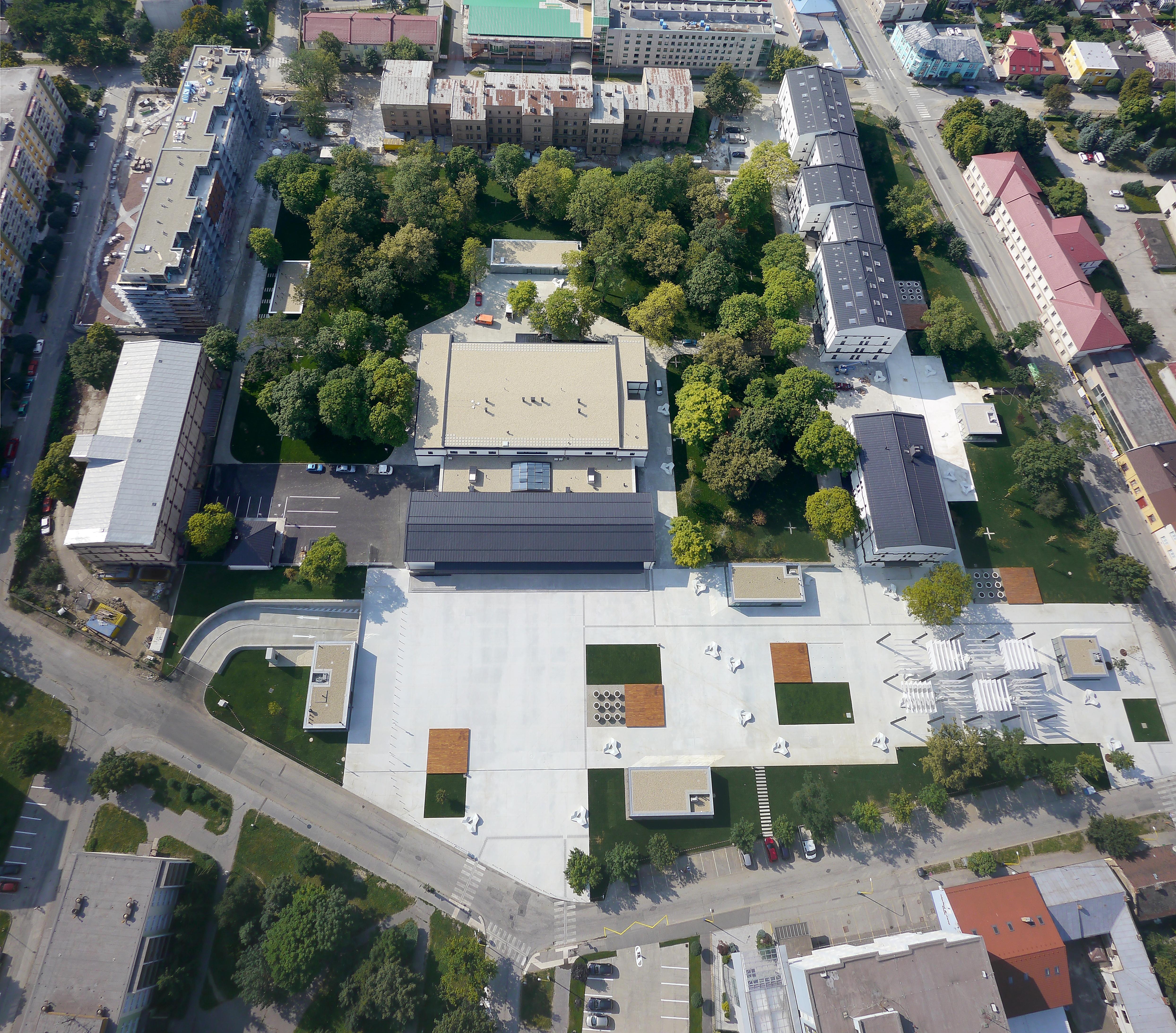 Kasárne Kulturpark, Košice. Foto - zerozero