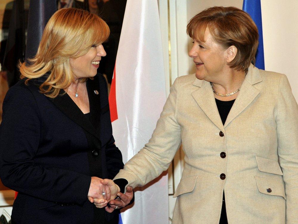 Iveta Radičová a Angela Merkelová. Foto – TASR