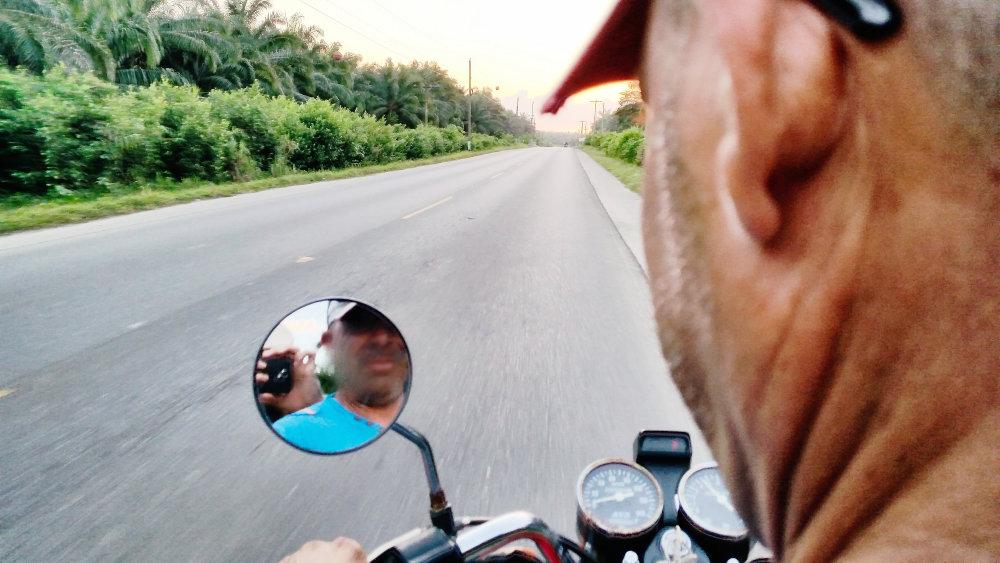 S Francom cestou z Hranice. Foto - Tomáš Forró
