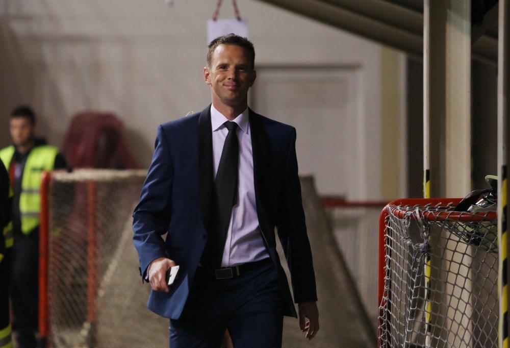 Fanúšikovia si od nového šéfa Pro-Hokeja a teda aj ligy sľubujú mnoho. Richard Lintner prináša viacero zmien. Foto - TASR