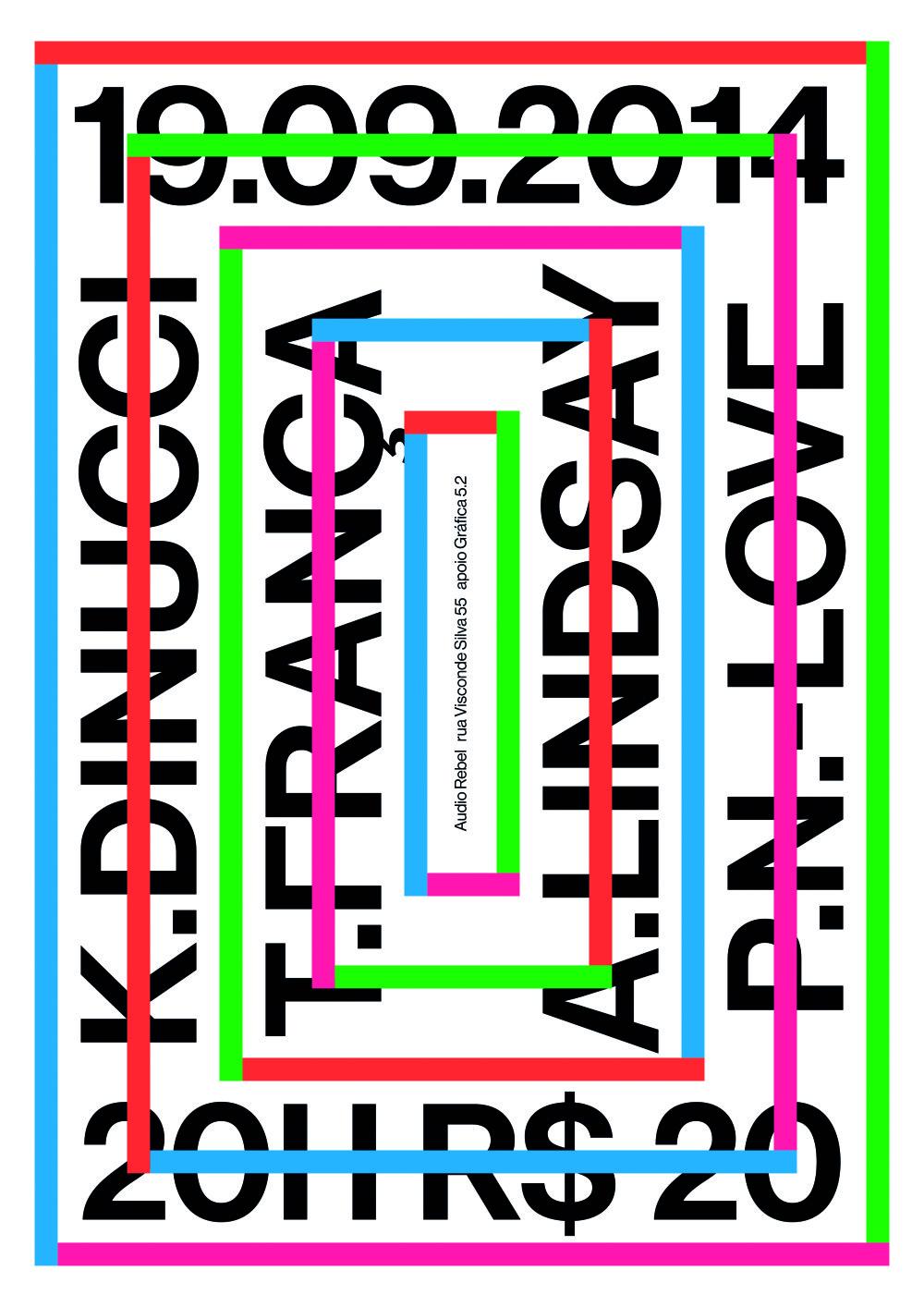 Cena primátora mesta Trnava / Trnava City Mayor's Prize Lacaz, Thiago (bra) Kiko Dinucci / Thiago França / Arto Lindsay / Paal Nilssen-Love, 2014