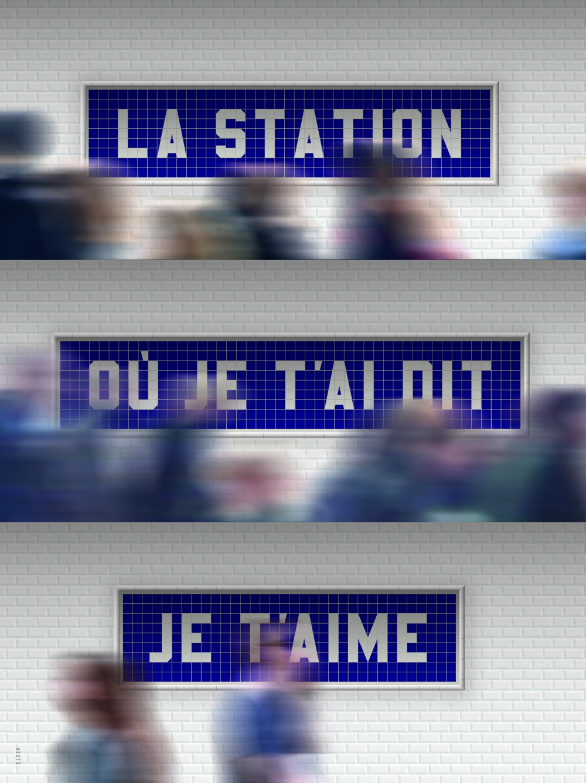 1. cena / 1st prize Grand Prix 2015 Le Quernec, Alain (fra) La station ou je t'ai dit je t'aime, 2014