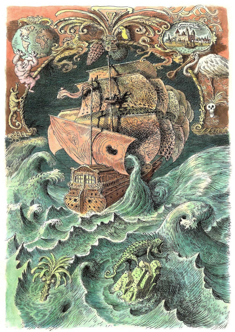 Peter Kľúčik (1953) D. Defoe: Život adobrodružstvá Robinsona Crusoea, Mladé letá, 1991