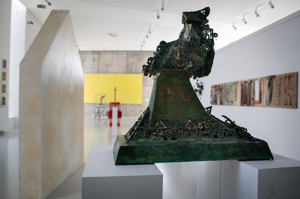 Výstava pri príležitosti 85. výročia založenia Školy úžitkového výtvarníctva Josefa Vydru v Bratislave v ZOYA MUSEUM v Modre. Foto N - Tomáš Benedikovič