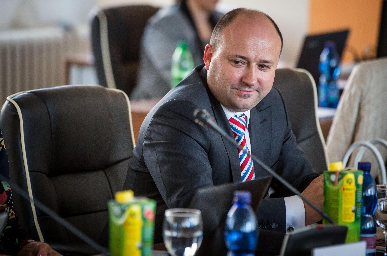 Ľuboš Sádovský ešte ako člen Súdnej rady. Foto N – Tomáš Benedikovič