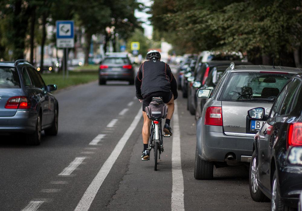 Cyklisti v meste. Foto N - Tomáš Benedikovič