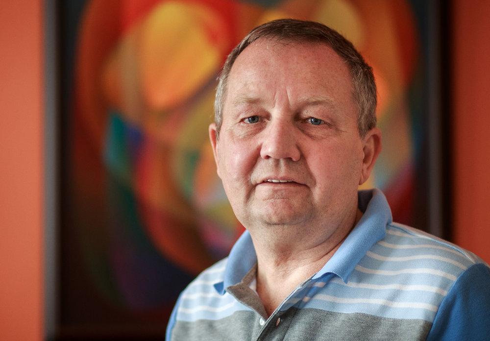 Profesor Jozef Hvorecký. Foto N - Tomáš Benedikovič