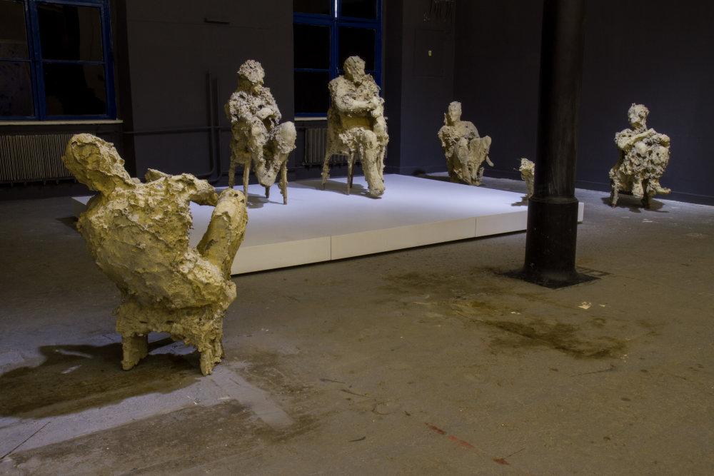 Sochy rodiny Jána Zelinku. Foto - Katarína Hudačinová