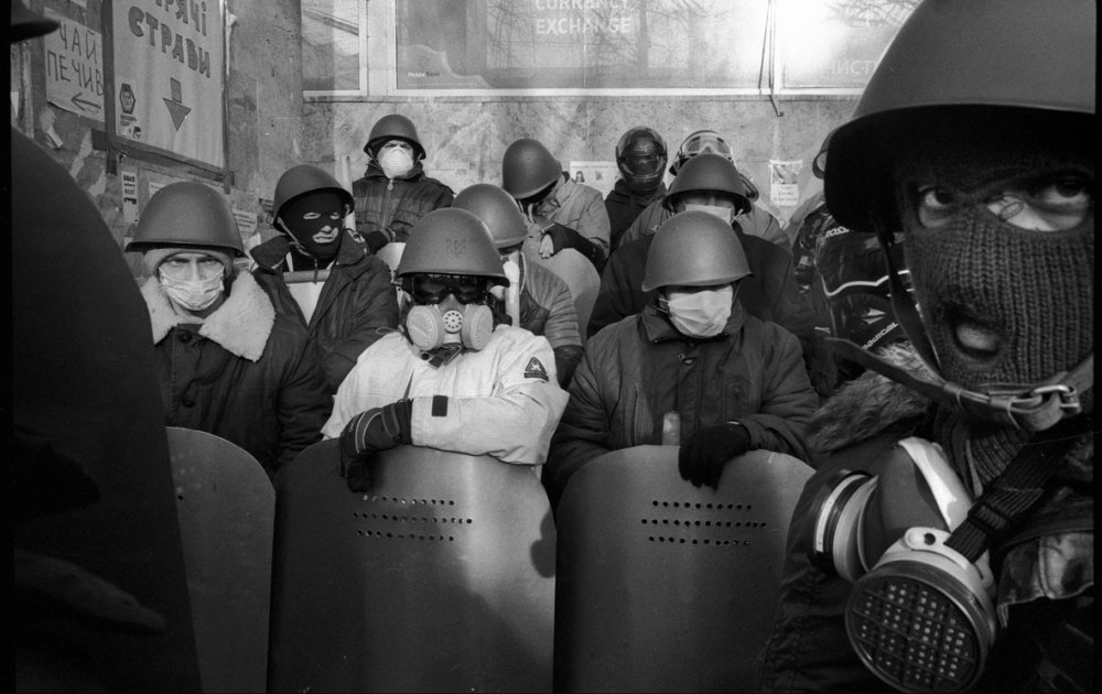 Juraj Mravec, Euromajdan/ From exhibition The Best of Czech Press Photo, Kyjev 2014