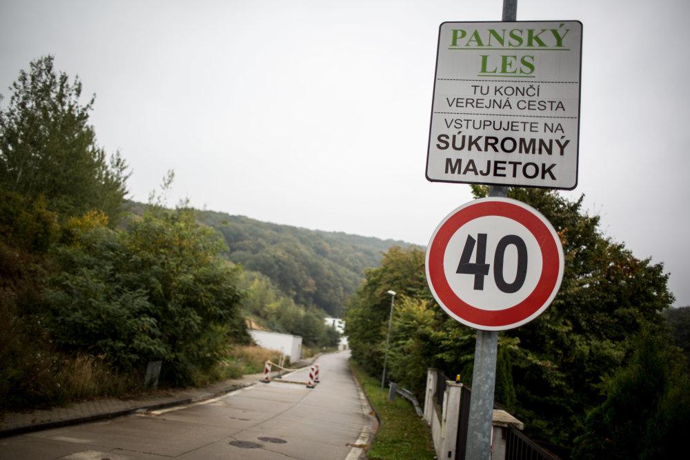 Panský les, nová a lepšia štvrť Marianky. Foto N - Vladimír Šimíček