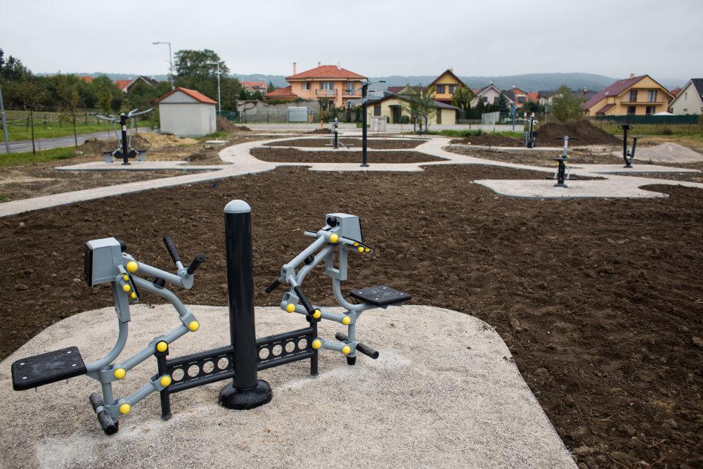 V Marianke budú mať aj fitnes ihrisko. Foto N - Vladimír Šimíček