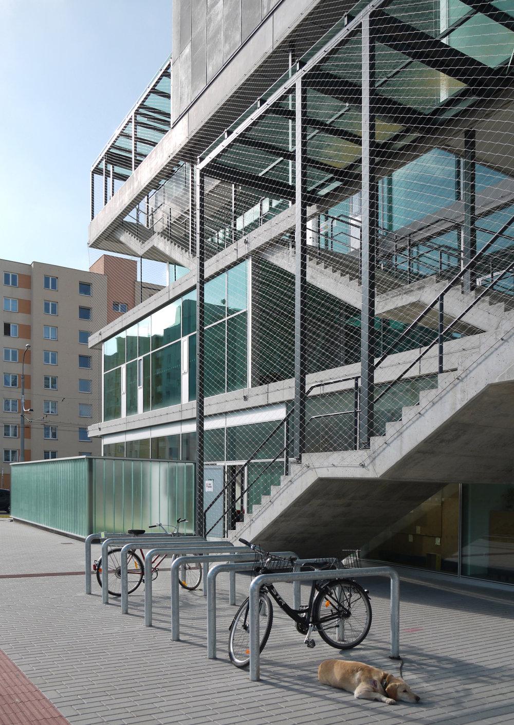 Komunitné centrum Máj. Foto - SLLA architekti.
