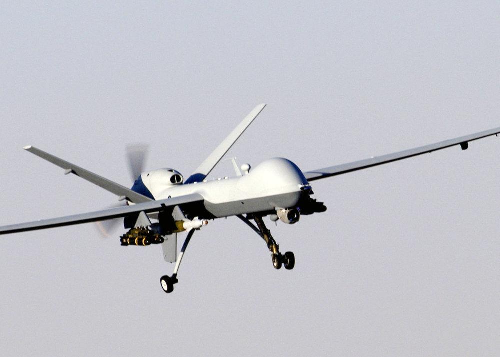MQ-9 Reaper je jedným z najvyužívanejších autonómnych lietadiel pre bojové a špionážne operácie. Source: Wikipedia.org