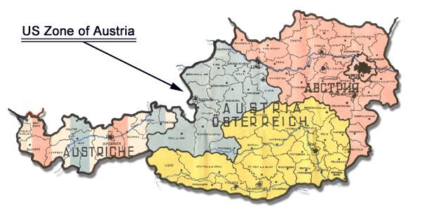 Occupied Austria 1945 600