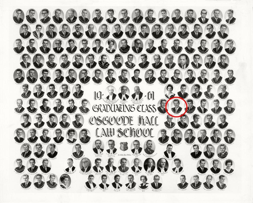 Osgoode Law School 1961
