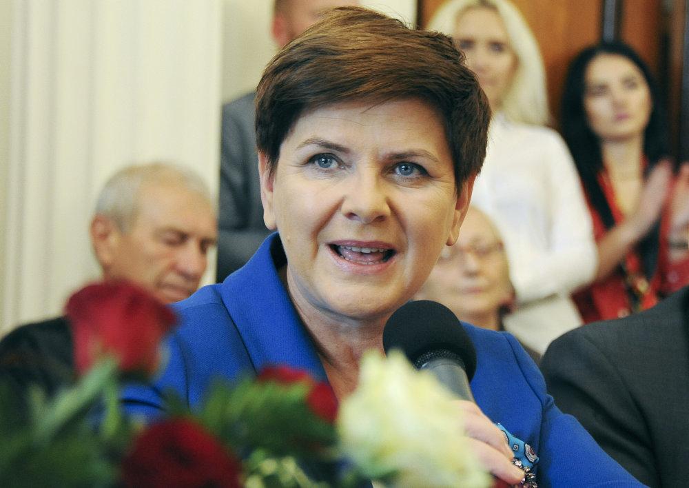 Novou premiérkou bude zrejme Beata Szydlo. Foto - tasr/ap