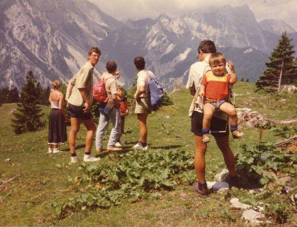 Svítkovci v Alpách