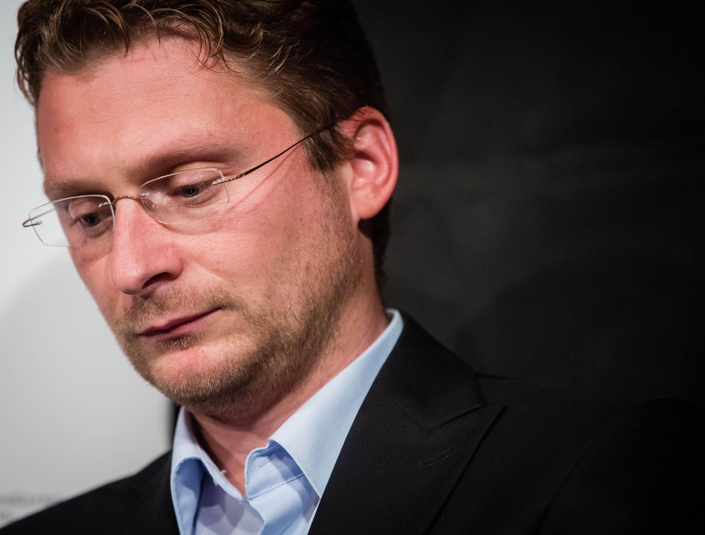 Predseda Lekárskeho odborového združenia Peter Visolajský. Foto N - Tomáš Benedikovič