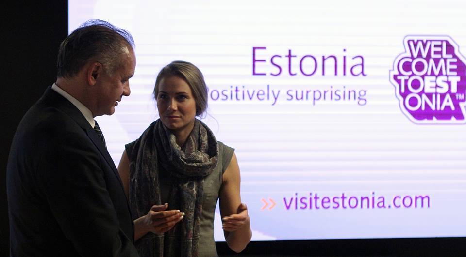 Estónci svoj elektronický štát predviedli aj delegácie v čele s prezidentom Kiskom, v ktorej boli i úradníci z viacerých ministerstiev.