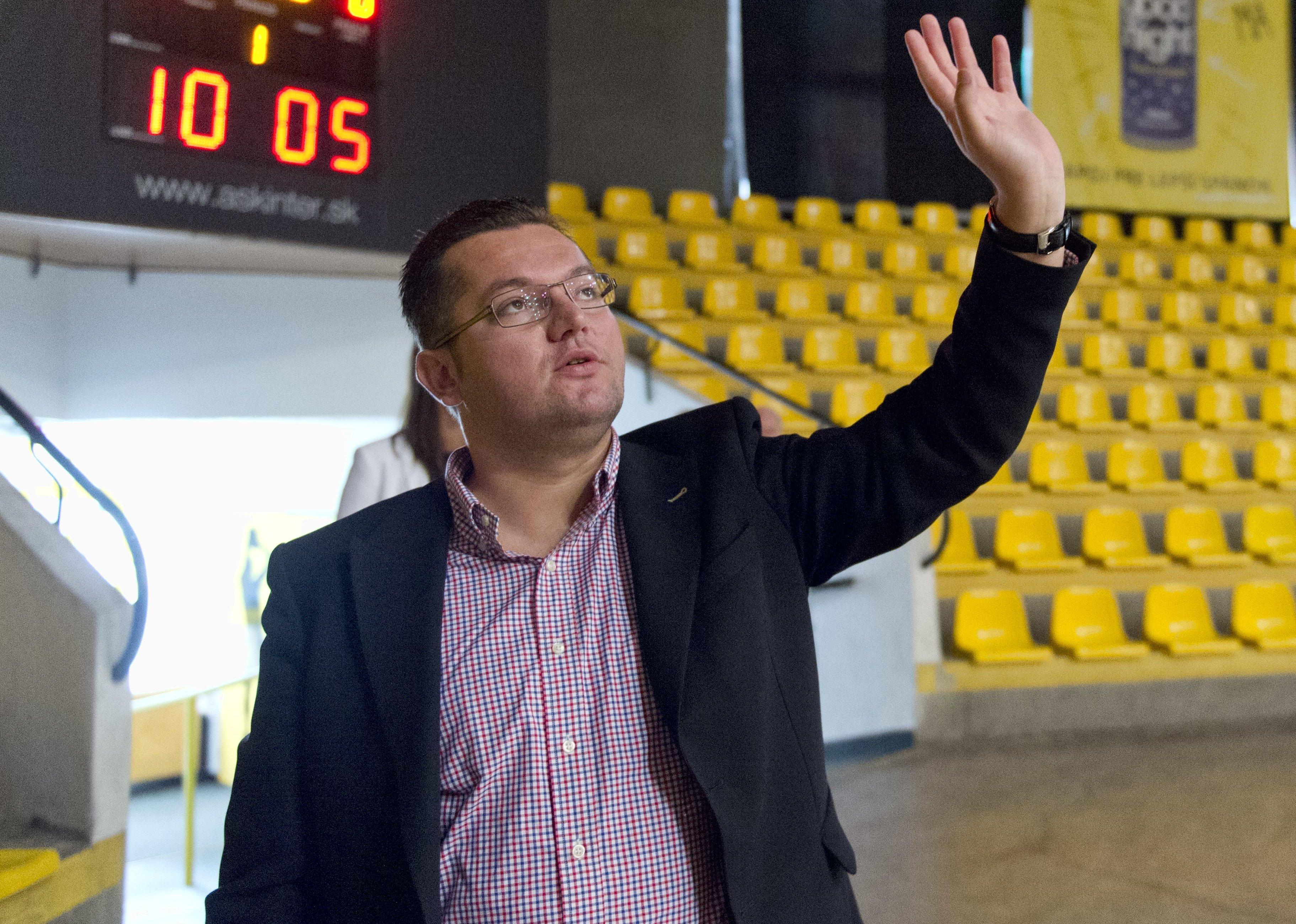 Andrej Kolesík, šéf AŠK Inter. Foto - TASR