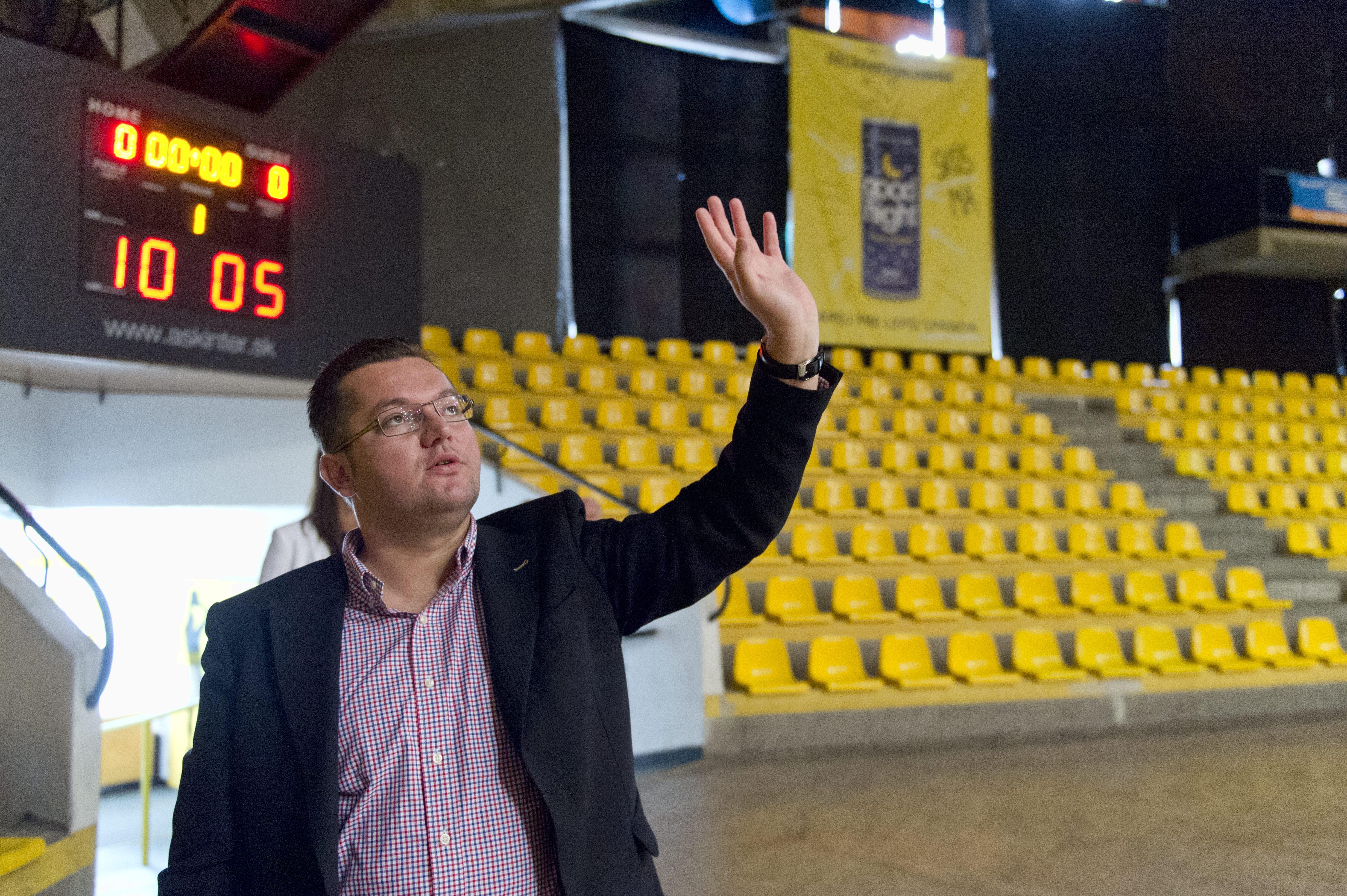 Andrej Kolesík hľadí do budúcnosti s otáznikom. Foto – TASR