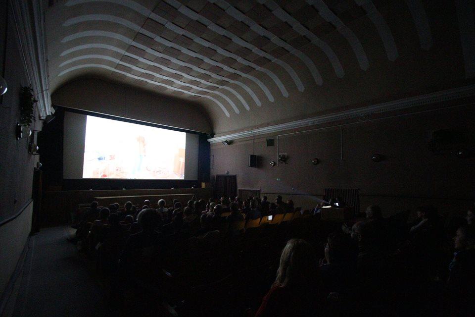 Vyhlasovanie víťazov Ceny Oskára Čepana v košickom kine Úsmev. Foto - Tomáš Kmeť.