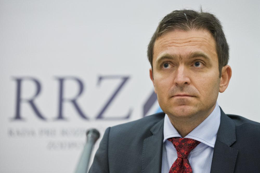 Člen Rozpočtovej rady Ľudovít Ódor. Foto - Tasr