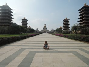 buddhist monastery, Taiwan