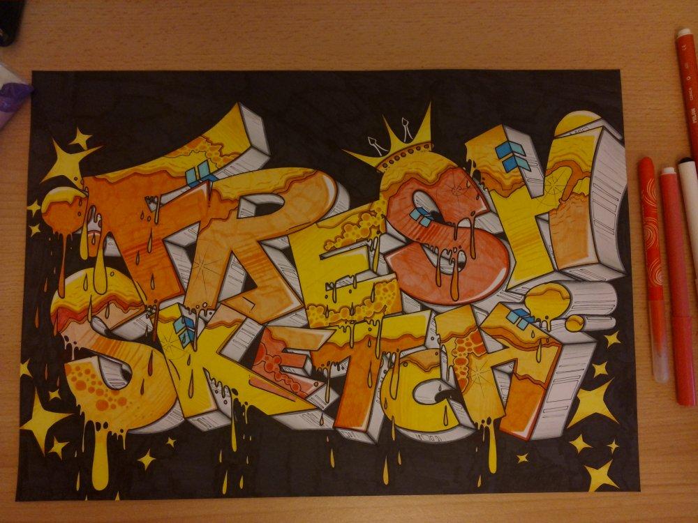 graffiti fresh