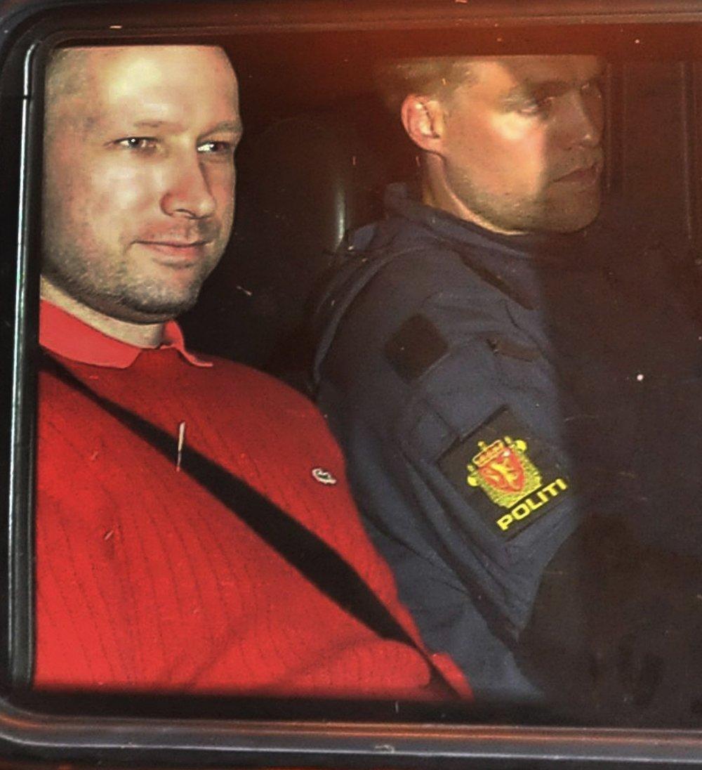 Breivik - muž bez emócií. Foto - tasr/ap