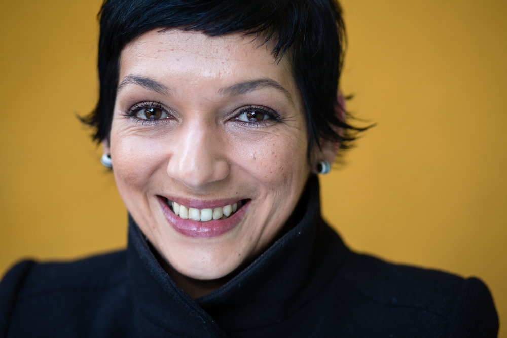 Bratislava, 3.11. 2015. Irena Biháriová zo združenia Ľudia proti rasizmu. foto N - Tomáš Benedikovič