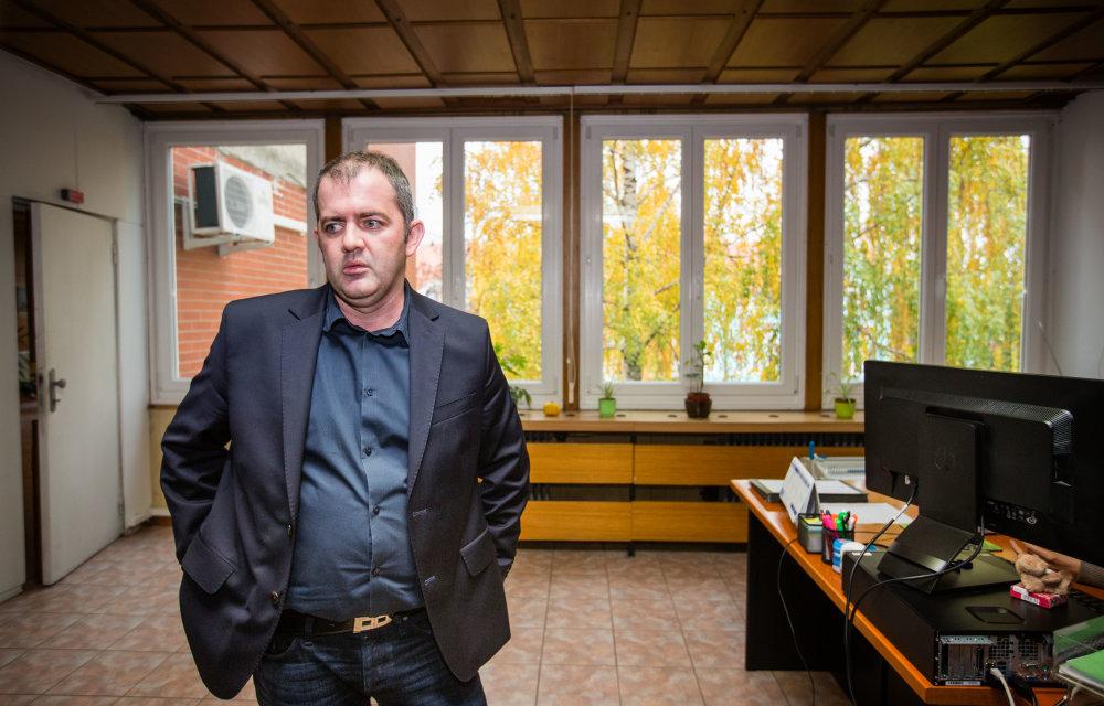 Prednosta okresného úradu v Dunajskej Strede Richard Kmeť. Foto N - Tomáš Benedikovič