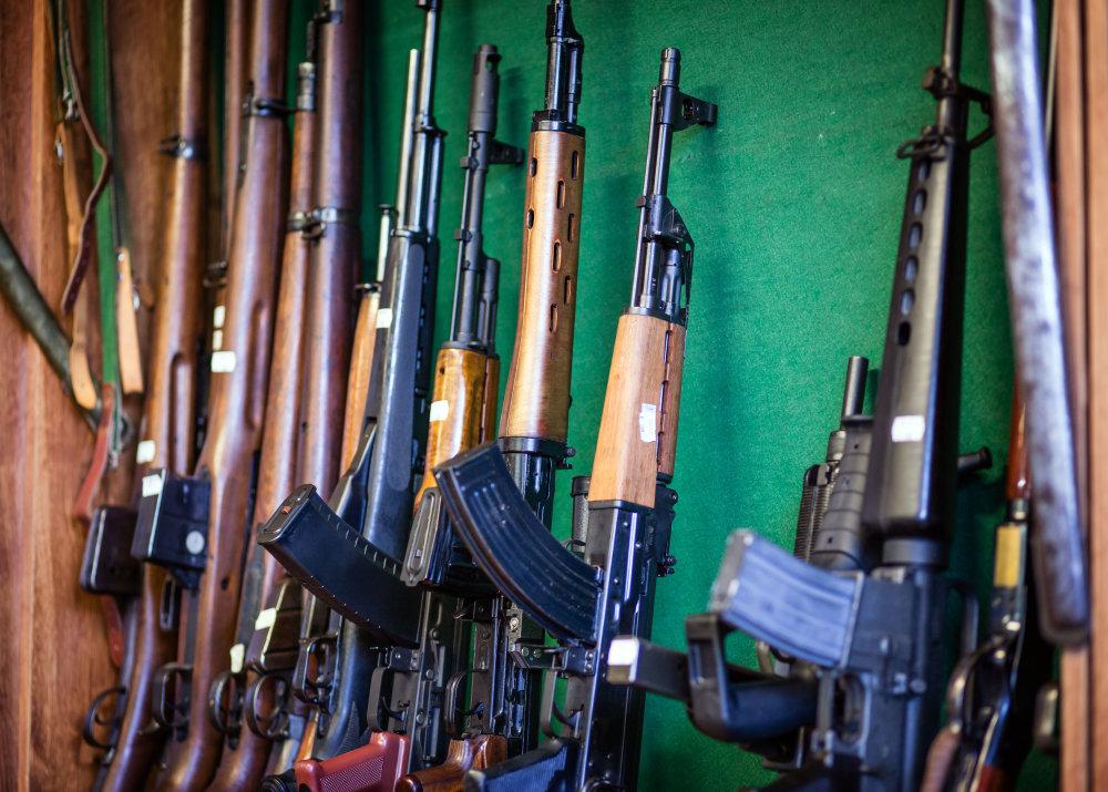 Expanzné zbrane sú obvykle prerábané z klasických zbraní. Foto N – Tomáš Benedikovič