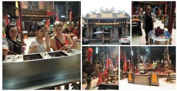 Taoist temple collage