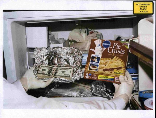Mraznička amerického kongresmana tiež ukrývala bankovky v alobale. Foto - Wikipedia