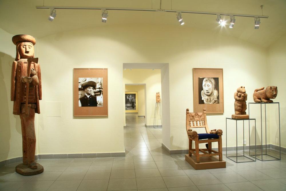 Záber zo stálej expozície Štefan Siváň – rezbár z Oravy. Foto - archív OG