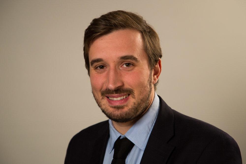 Francúzsky analytik MAertin Michelot, v Paríži pracuje ako expert German Maershall Found, v Prahe vedie výskum think-tanku Europeum. FOTO - GMF