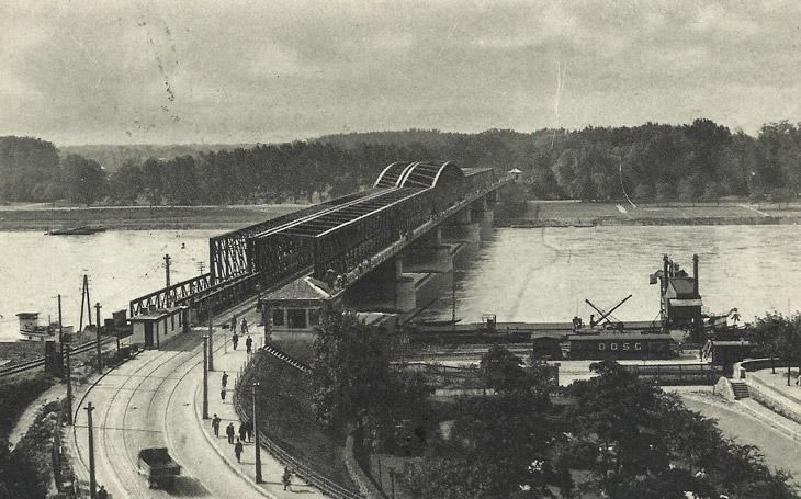 Most Františka Jozefa, 1890.