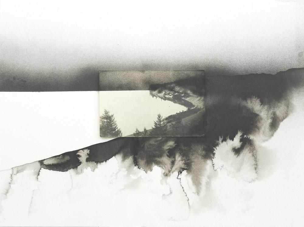 Lucia Tallová, zo série More, 30 x 40 cm, akvarely, 2015