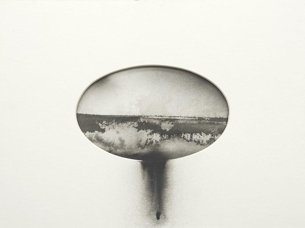 Lucia Tallová, zo série More, 24x33 cm, tuš na papieri, 2015.