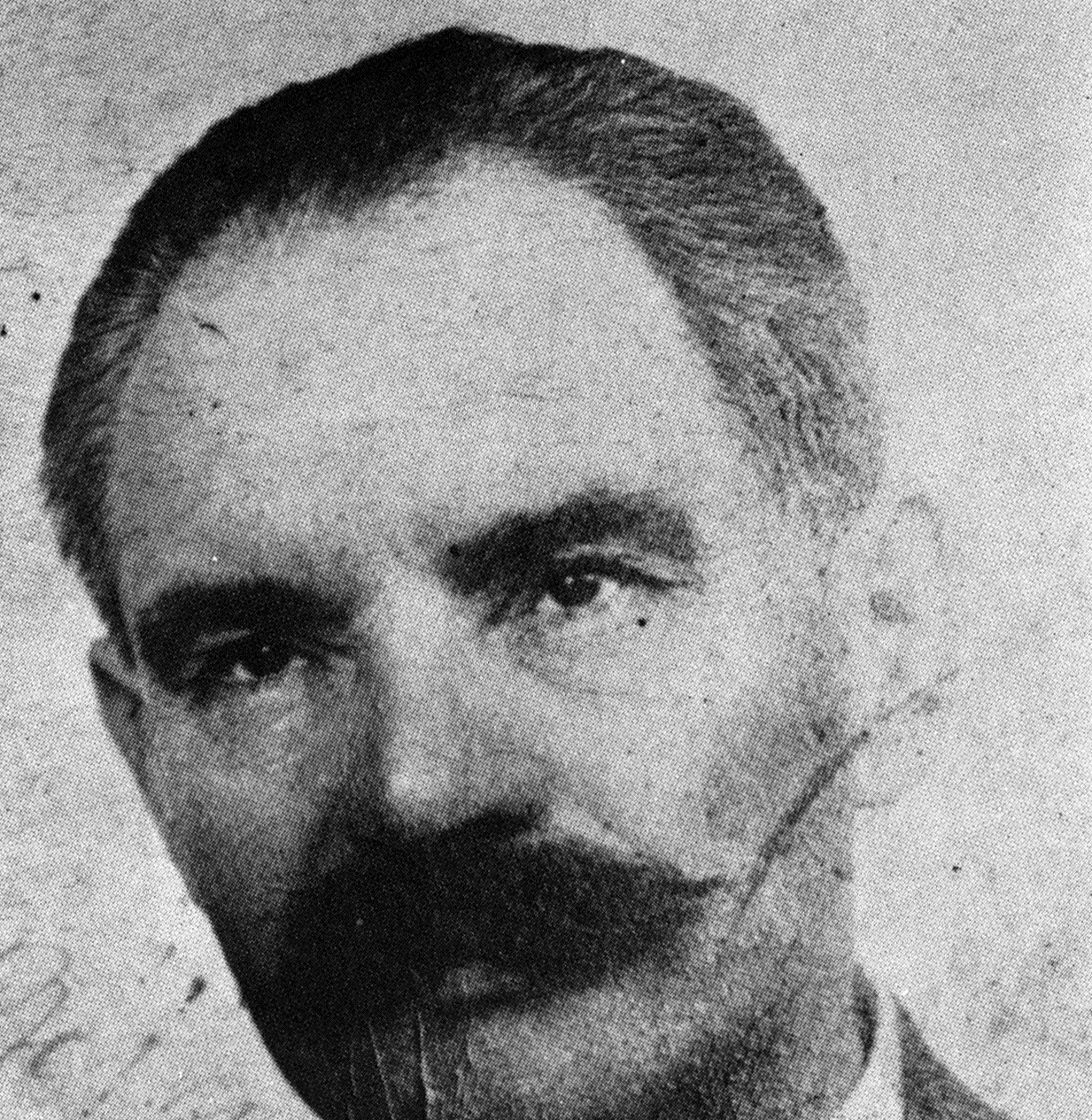 Aron Grünhut pod falošnou identitou v Budapešti. Zdroj - Archív Martina Mózera